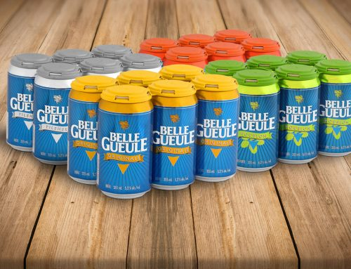 Here are your Belle Gueule in packs of 6 cans